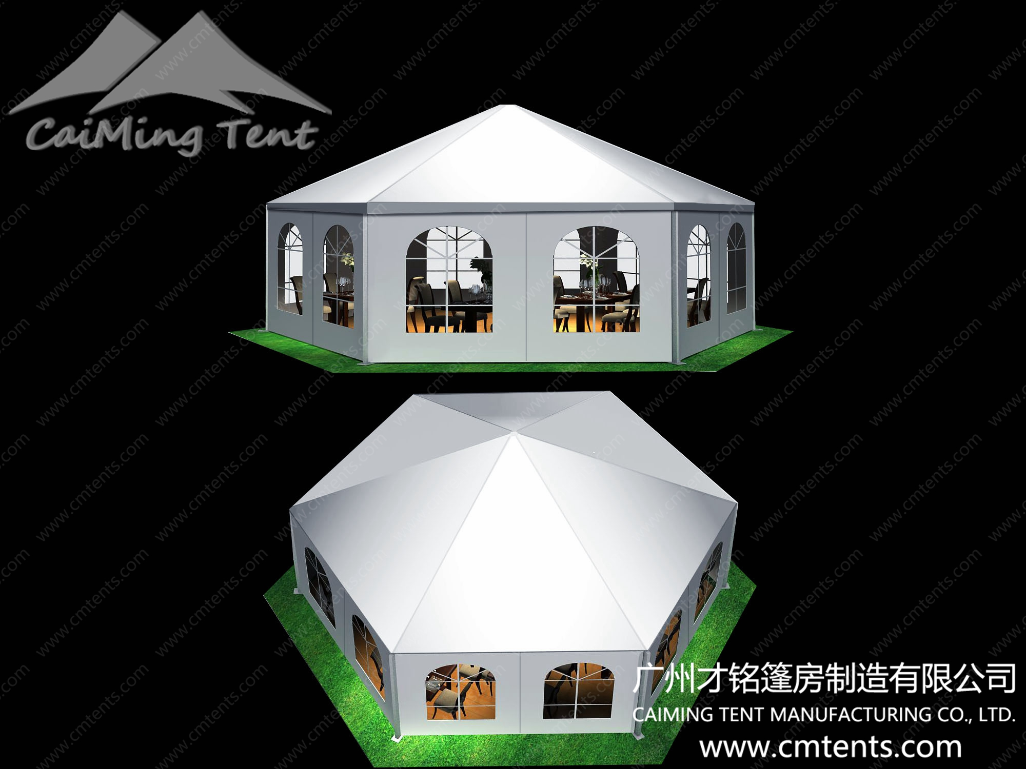Polygon High Peak Tent