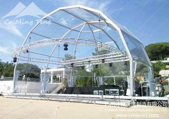 >Curve Tent(Semi Circle)