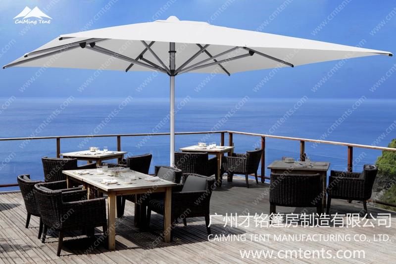 *Commercial Centre Pole Umbrella