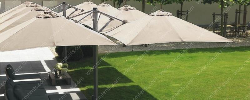 Multi-mast Cantilever Umbrella